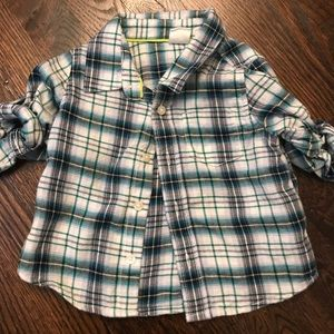 Baby gap boys button up